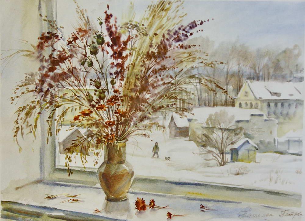 Татьяна петрова натюрморт зимнее